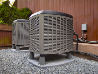 HVAC system in McAllen, TX