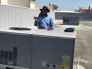 Commercial air conditioning in McAllen, TX